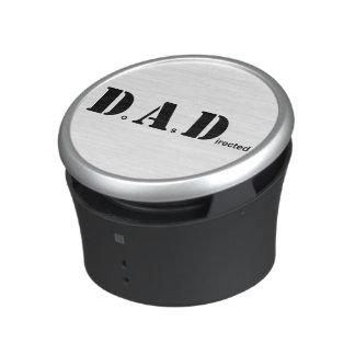 El PAPÁ, hace según lo dirigido Altavoz Bluetooth