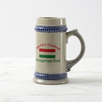 El papá húngaro más fresco jarra de cerveza
