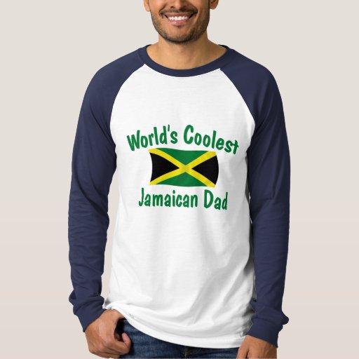 El papá jamaicano más fresco playeras