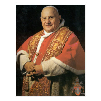 El papa Juan XXIII bendecido Tarjeta Postal