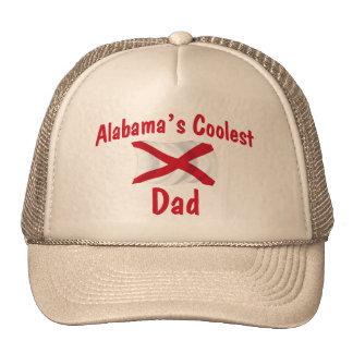 El papá más fresco de Alabama Gorras De Camionero