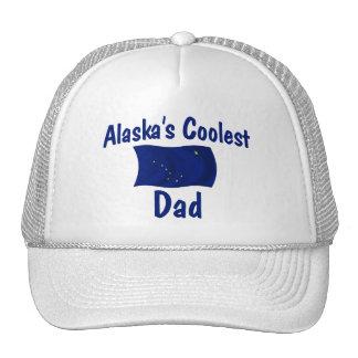 El papá más fresco de Alaska Gorros Bordados