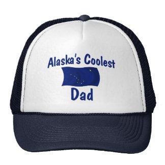 El papá más fresco de Alaska Gorras De Camionero