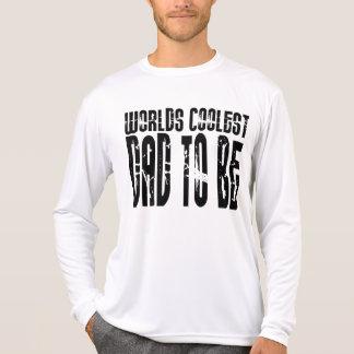 El papá más fresco de los mundos de los papás de camiseta