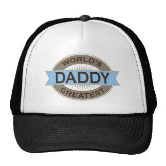 El papá más grande de los mundos gorros