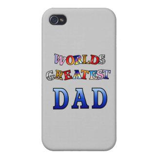 El papá más grande de los mundos iPhone 4 carcasas