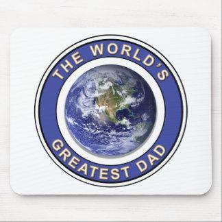 El papá más grande de los mundos mouse pad