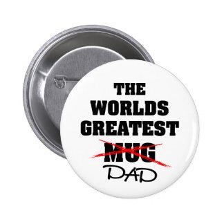 El papá más grande de los mundos pin