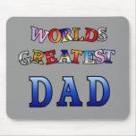 El papá más grande de los mundos tapete de ratón