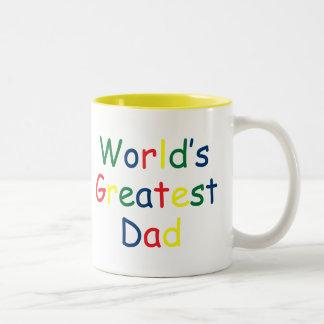 El papá más grande de los mundos tazas de café