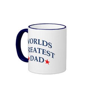 El papá más grande de los mundos tazas