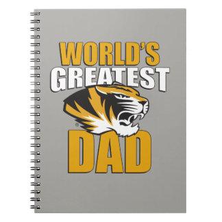 El papá más grande del mundo cuadernos
