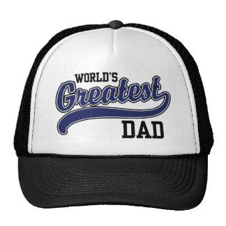El papá más grande del mundo gorras