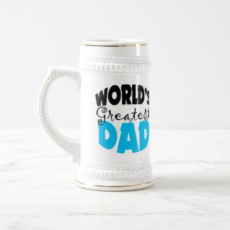 El papá más grande del mundo jarra de cerveza