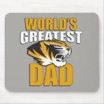 El papá más grande del mundo mousepad
