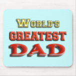 El papá más grande del mundo tapetes de ratones