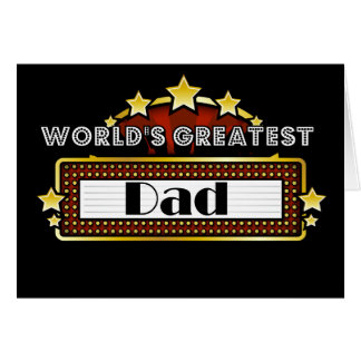 El papá más grande del mundo tarjetón