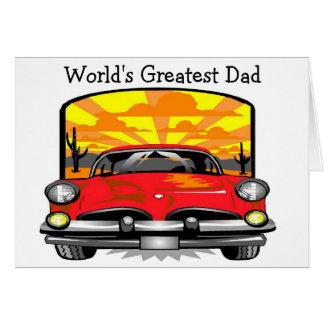 El papá más grande del mundo - tarjeta de nota
