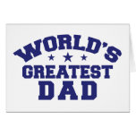 El papá más grande del mundo tarjetas