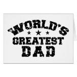 El papá más grande del mundo tarjeton