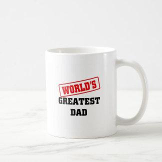 El papá más grande del mundo tazas