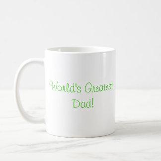 ¡El papá más grande del mundo! Taza De Café