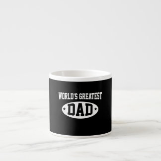 El papá más grande del mundo tazas espresso
