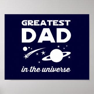 El papá más grande en el universo póster