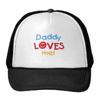 El papá me ama las camisetas y los regalos gorras de camionero