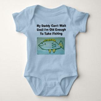 El papá no puede esperar---Pesca T-shirts