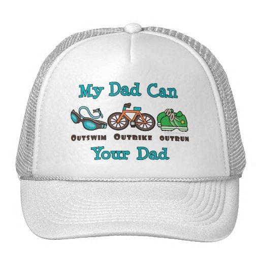 El papá Outswim el gorra superado Outbike del Tria