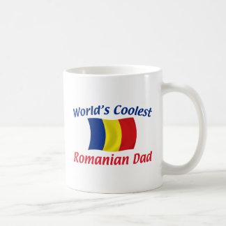 El papá rumano más fresco taza clásica