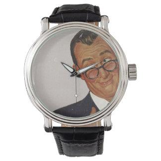 El papá sabe mejor reloj de mano