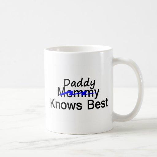 El papá sabe mejor tazas de café