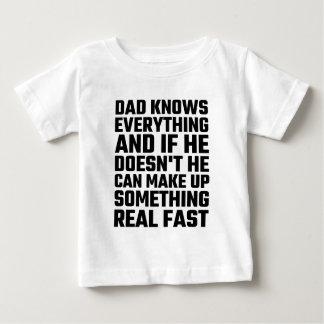El papá sabe todo tee shirt