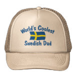 El papá sueco más fresco gorras de camionero