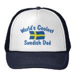 El papá sueco más fresco gorros bordados