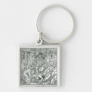 El papa suprimido por el rey Enrique VIII, 1534 Llaveros Personalizados