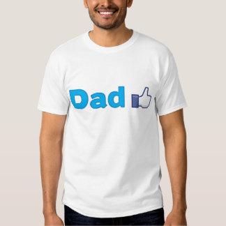 El papá tiene gusto polera