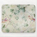 El papel pintado de la abuela tapete de raton