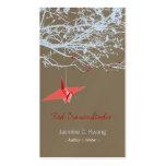 El papel rojo japonés de Origami Cranes el árbol d