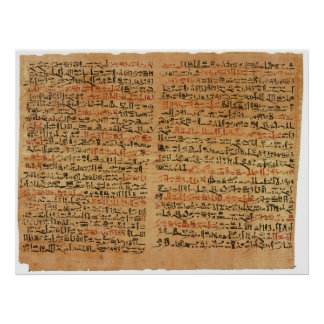 El papiro de Edwin Smith Poster