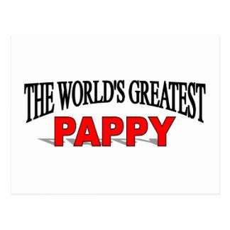El Pappy más grande del mundo Tarjeta Postal