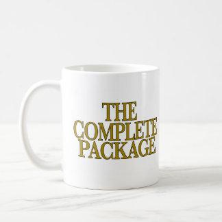 El paquete completo taza básica blanca