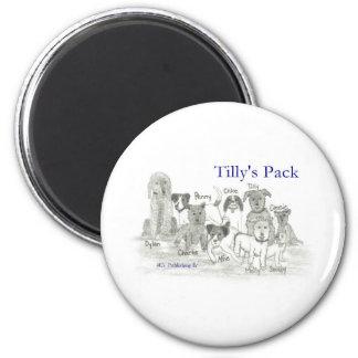El paquete de Tilly Imán Redondo 5 Cm