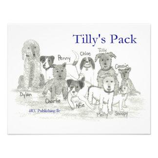 El paquete de Tilly Invitación Personalizada
