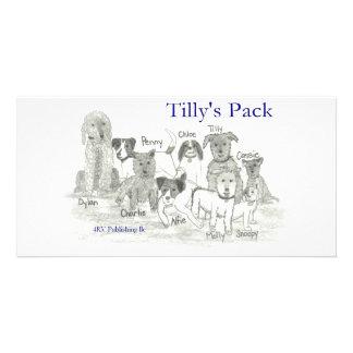 El paquete de Tilly Tarjeta Con Foto Personalizada