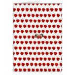 El par retro sea tarjeta del día de San Valentín d
