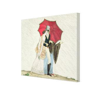 El paraguas complaciente, platea 40 de 'Le Bon Gen Impresiones De Lienzo