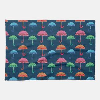 El paraguas de lujo toalla de mano